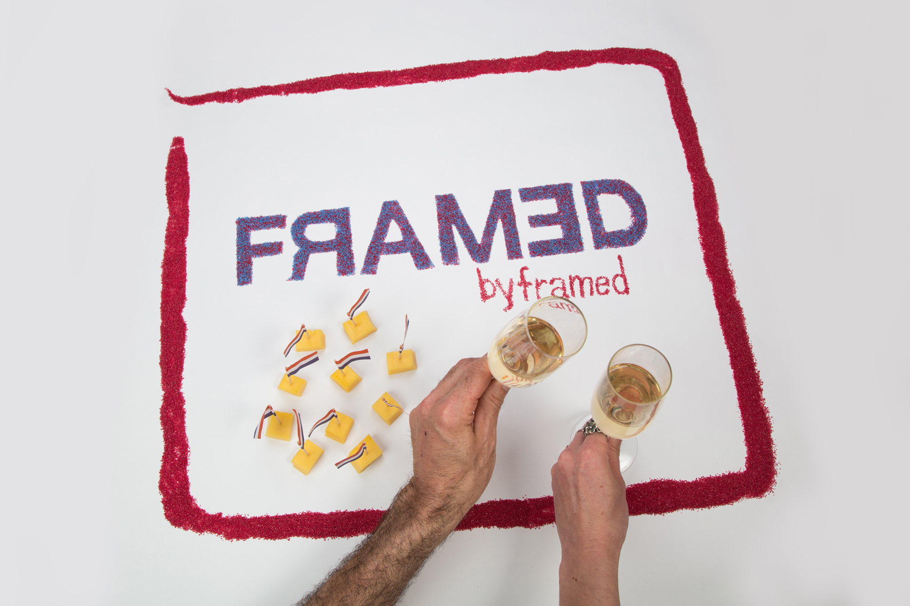 Framed logo | Stopmotion